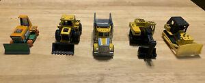 Vehiculo-De-Construccion-Vintage-1970s-1980s-Matchbox-Lote-De-5
