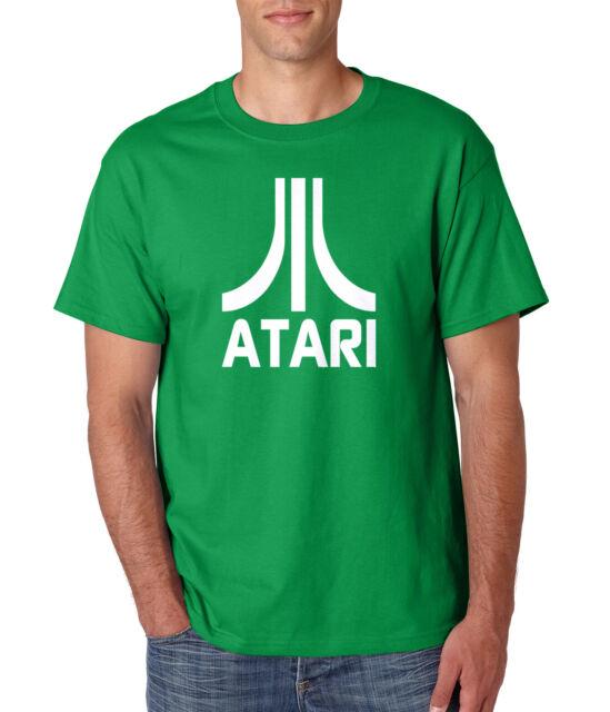 Mens T-Shirt For Gamer ATARI asteroids Retro 80s medium Gift