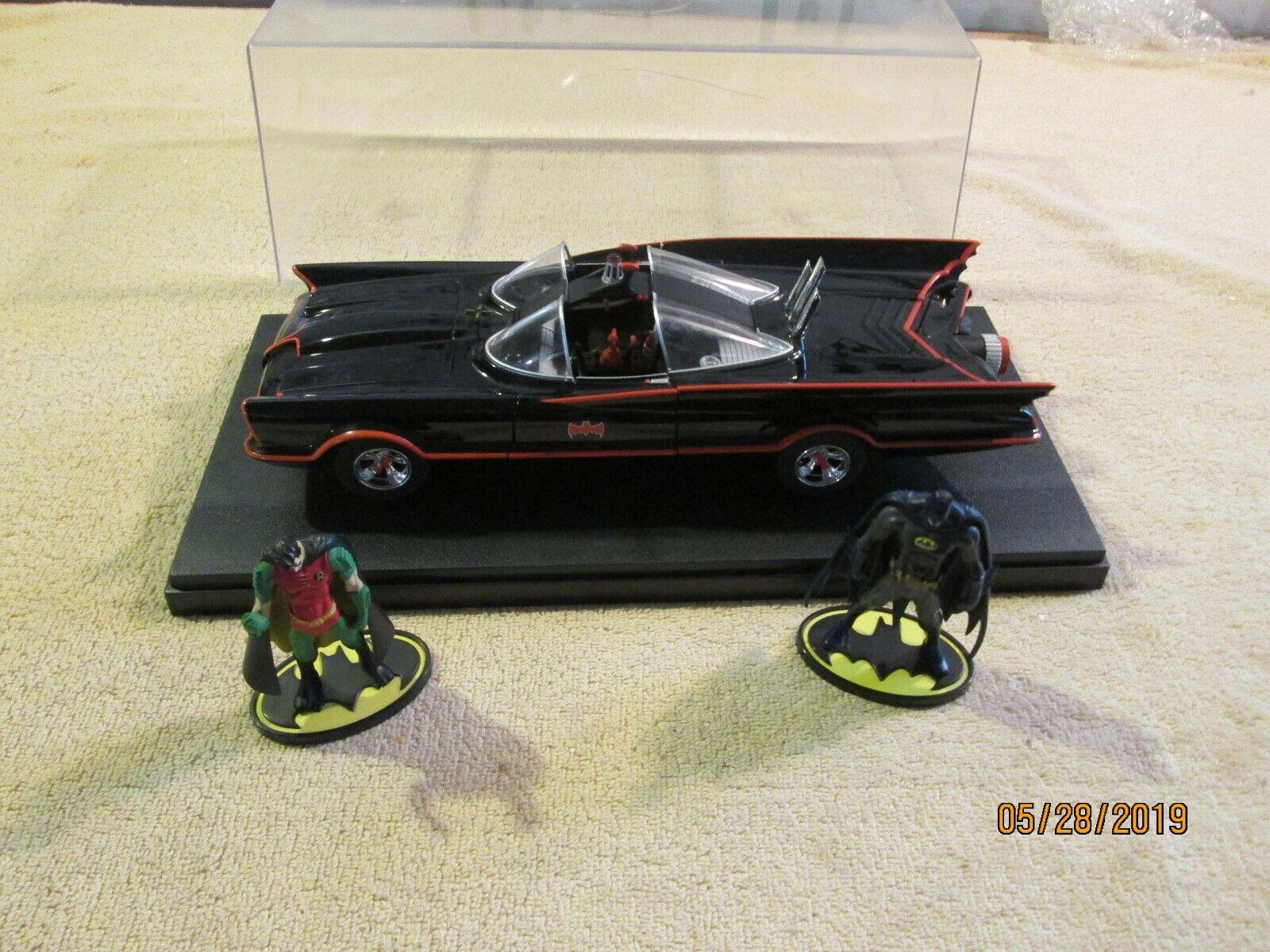Hot Wheels Batman Classic TV Series Batmobile 1 24 with batman robin