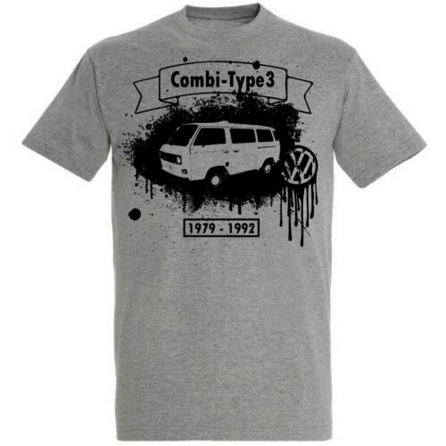XS-5XL T-shirt Homme VW Combi T3,Légende Yougtimer DTG Tunning Collection