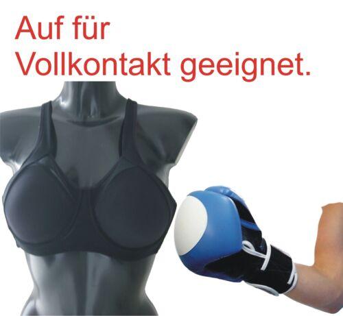 BAY® Damen Brustschutz SOFT Einlagen Brust Schutz Sport BH KWON Frauen TOP Flexi