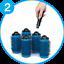 Cepillo-Secador-Desmontable-Kit-de-7-piezas-sistema-de-volumen-y-rizos