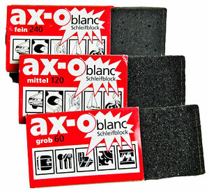 Artifex-Ax-O-Blanc-Universelles-Bloc-de-Broyage-Fine-Moyenne-Grossier-Meules