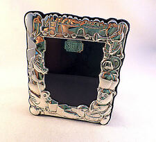 """English Sterling Figural Baby Frame-5 1/2"""" x 4 1/2"""""""