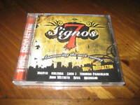 Latin Reggaeton Rap Cd 7 Signos - Loco J Jhon Distrito Maffio Chombo Panablack