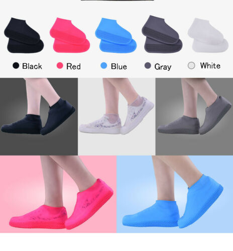 Overshoes Covers Silicone Recyclable Shoe Protector Rain Boot Waterproof Cover