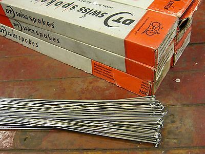 DT SWISS Competition Silver Spokes 2.0//1.8mm Dbl Butted *Any Qty**Any Length*NEW