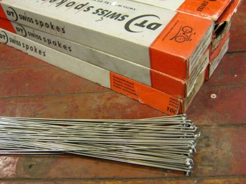 DT SWISS COMPETITION Silver Spokes 1.8//1.6mm Dbl Butted *Any Qty**Custom Length*