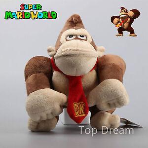 Nintendo-Super-Mario-Bros-Donkey-Kong-Monkey-stuffed-toy-plush-doll-10-034-teddy