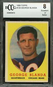1958-topps-129-GEORGE-BLANDA-chicago-bears-BGS-BCCG-8