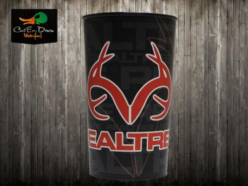 environ 623.68 g Realtree Outdoors Logo Orange Noir souvenir coupe verre 22 oz