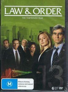 LAW-amp-ORDER-The-Thirteenth-Year-6-x-DVD-Set-NEW-amp-SEALED-c3