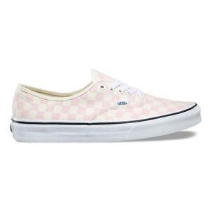 Vans Ua Authentic Checkerboard Chalk Pink Unisex Men Shoes New Skate ... 9d3ef416d