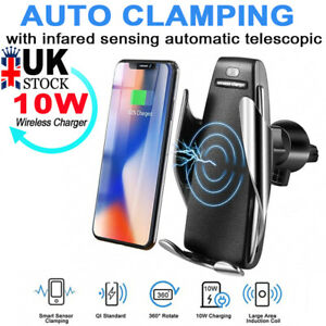 Automatic-Clamping-Qi-Wireless-Car-Charging-Charger-Mount-Air-Vent-Phone-Holder