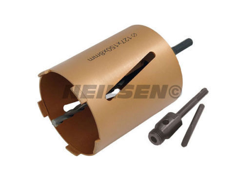 127mm x 150mm Lenth Diamond Core Drill Bit 5 tooth Hole Cutter Drilling CT0687