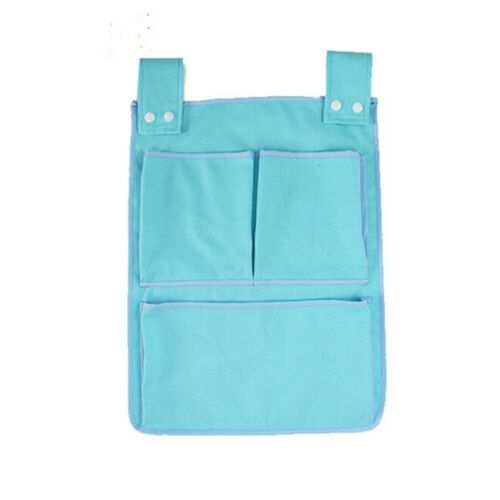 Baby Bed Hanging Storage Bag Crib Organizer Toy Diaper Pocket for Cradle Bed RE