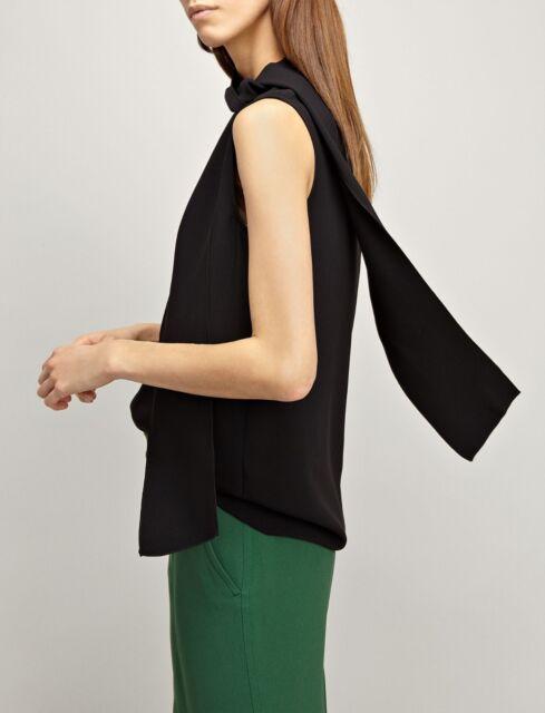 379024b93233fb Joseph Women s Black Silk Blouse Top Shirt Size F 38 UK 10 US 6 for sale  online