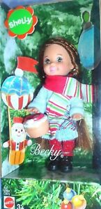 BARBIE-SHELLY-BECKY-NATALE-DOLL-MATTEL-C3873