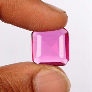 Brilliant-Square-Cut-Pink-Tourmaline-10-30-Ct-Tiny-Ring-Size-Gemstone-U-900