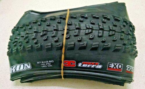 "MAXXIS REKON 27.5/"" x 2.60 Tire 120tpi 3C MaxxTerra EXO Tubeless TR 27.5x2.6 PLUS"