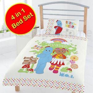 Le-Jardin-de-Nuit-Meilleur-Amis-Junior-Bebe-4-IN-1-Literie-Bundle-Jeu-Enfants