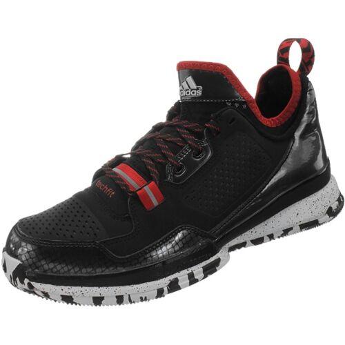 Adidas D Lillard Herren Basketballschuhe schwarz/weiß/rot Basketball Stiefel NEU