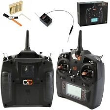Spektrum DX6 6-Channel 6CH DSMX Transmitter w AR610 Receiver Mode 2