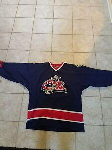 Columbus Blue Jackets Jersey. Men's XL