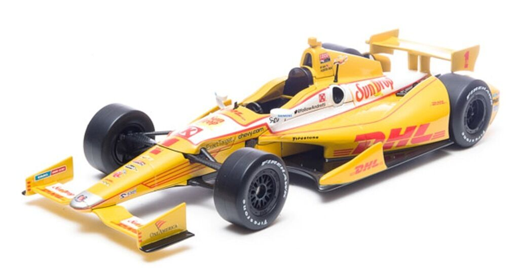 GREENLIGHT COLLECTIBLES 10942 INDY CAR diecast model Ryan Hunter-Reay 1 18th