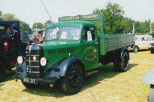 BEDFORD CLASSIC TRUCK PHOTO MKK217 PHOTOGRAPH LORRY VEHICLE PICTURE A.C.DIVINE..
