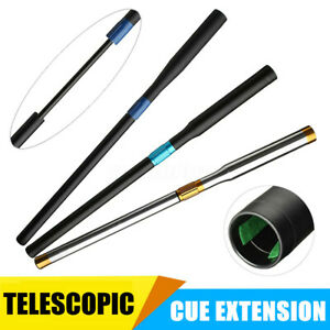 Aluminum-Telescopic-Snooker-Billiard-Pool-Cue-Extender-Extension-Sleeve-UK-U
