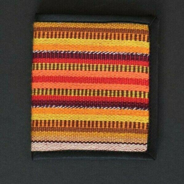 Mexican 'Bi-Fold' Multi-Yellow Colour Wallet, Mexico, Retro, Vintage, Festival