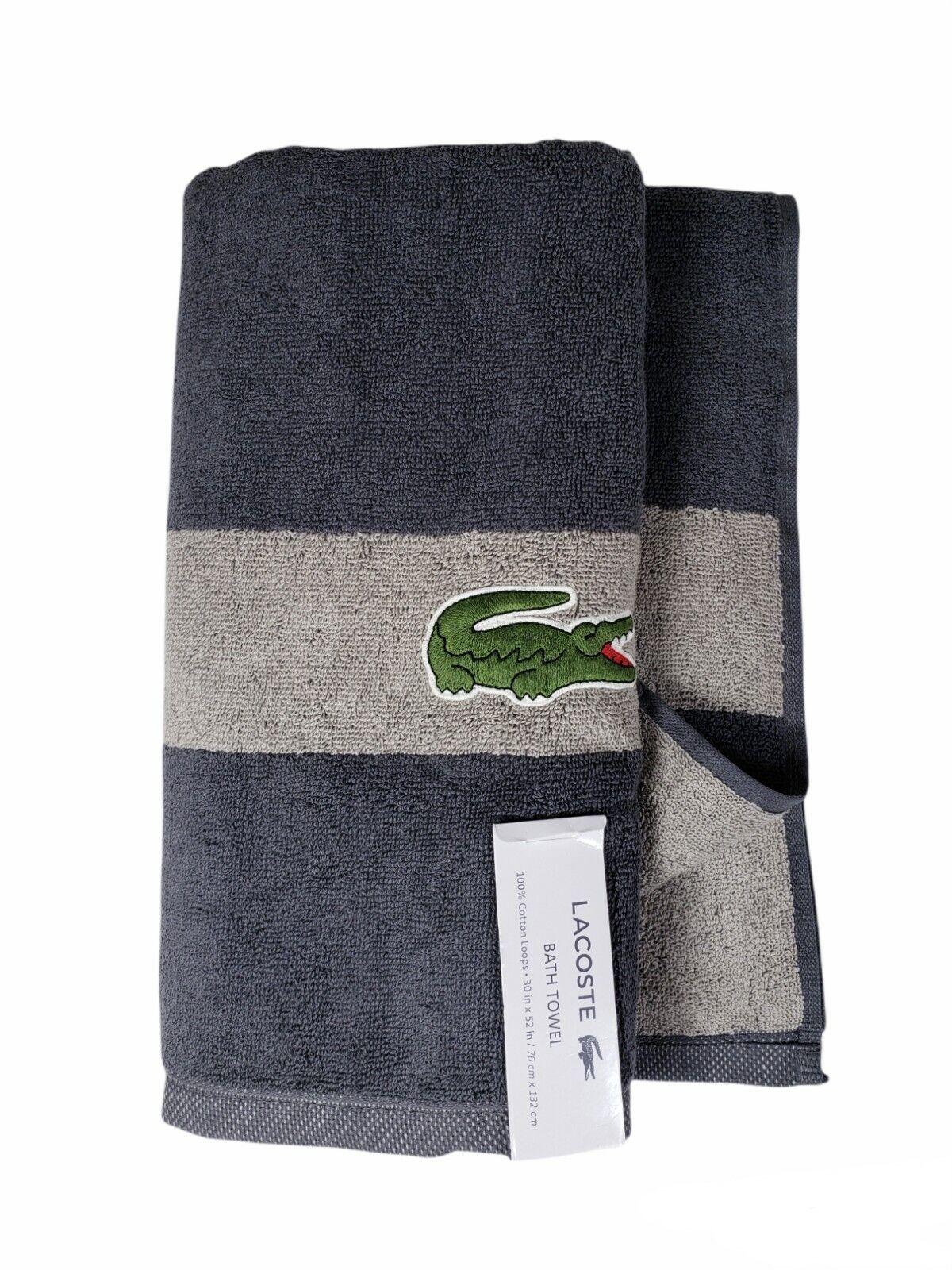 【 Lacoste】 Bath Towel 100% Cotton 30