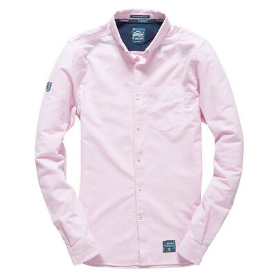 Superdry Chemise Ultimate Oxford Pour homme Rose