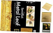 Speedball Composition Gold Leaf 25 Sheets Mona Lisa