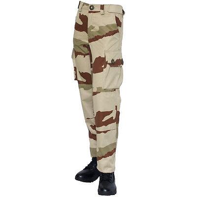 Pantalones Guerrilla Desierto Ejército Francés Talla 54 Camuflaje Daguet Relieving Heat And Sunstroke Ropa De Hombre