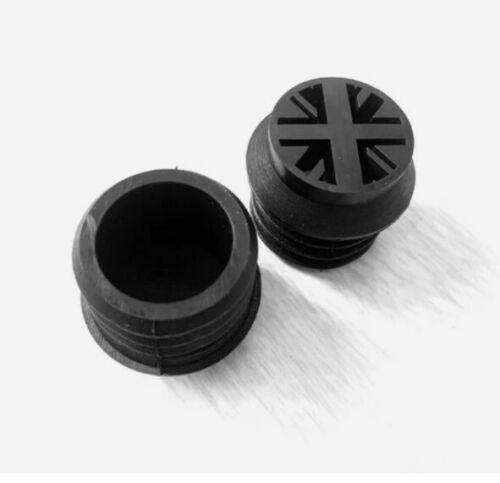 Brompton Union Jack Design Black Seat Saddle Post Bottom Rubber Bung