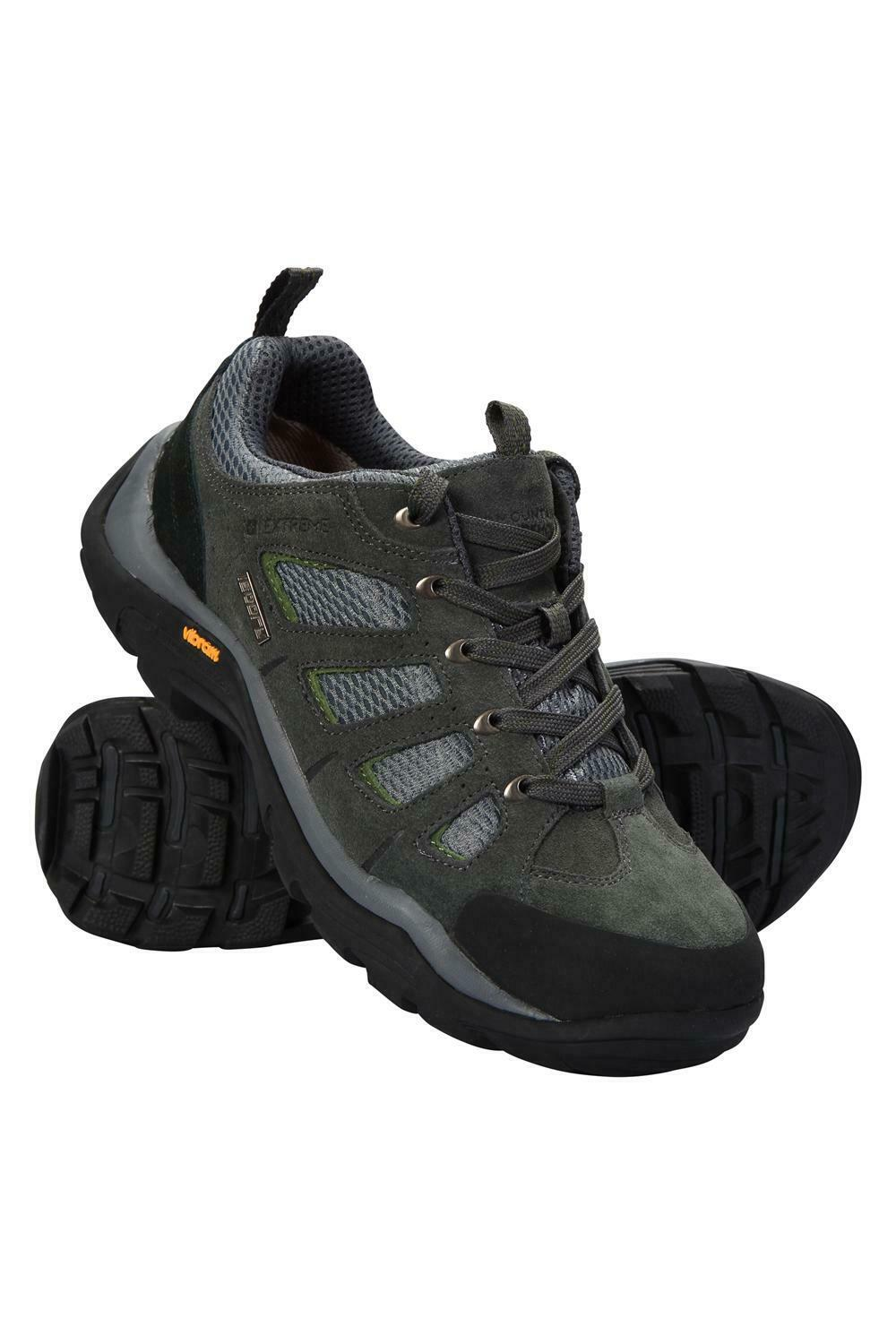 Mountain Warehouse Mens Waterproof shoes with Suede & Mesh Upper Highly Durable