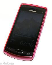 TPU Case Tasche Hülle für Samsung S8530 Wave II/Schutzhülle Pink