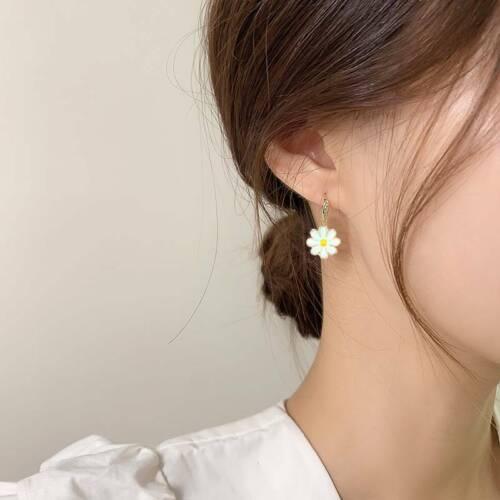 40Pcs//Set Enamel Alloy Daisy Flower Charms Pendant Jewelry Findings DIY Craft US