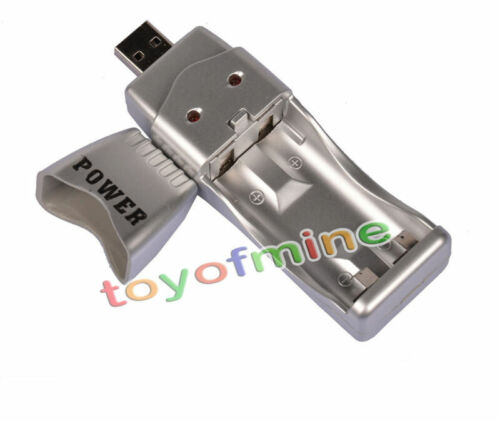 USB Charger for Ni-MH AA AAA 2A 3A Rechargeable Battery Free Shipping
