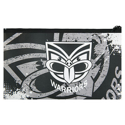 QUALITY LARGE NRL New Zealand Warriors Pencil Case for School Work stationary