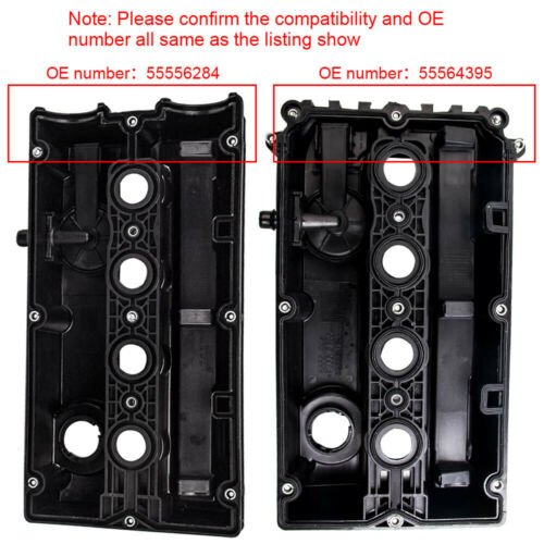 for VAUXHALL ASTRA ZAFIRA 1.6 Z16XEP Z16XE1 2004-10 CAM ROCKER COVER with GASKET