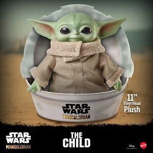 MATTEL gwd85 Star Wars Mandalorian the child baby Yoda Peluche personaggio 28 cm