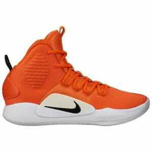 770d5b8e8a6 Image is loading Nike-Hyperdunk-X-Mid-Brilliant-Orange-Black-White-