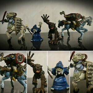 Elc-Tower-of-Doom-MITICO-Mostri-Action-Figure-Toys-Bundle-LUPO-MANNARO-Strega