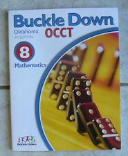Buckle Down Mathematics Math, 3rd edition, 8/8th, NEW 2006,workbook w/ tests