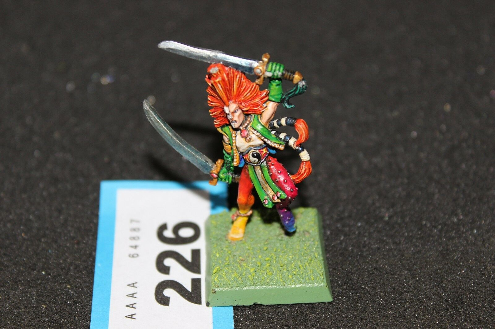 Games Workshop Warhammer Quest Wardancer Character Pro Painted Metal Figure OOP