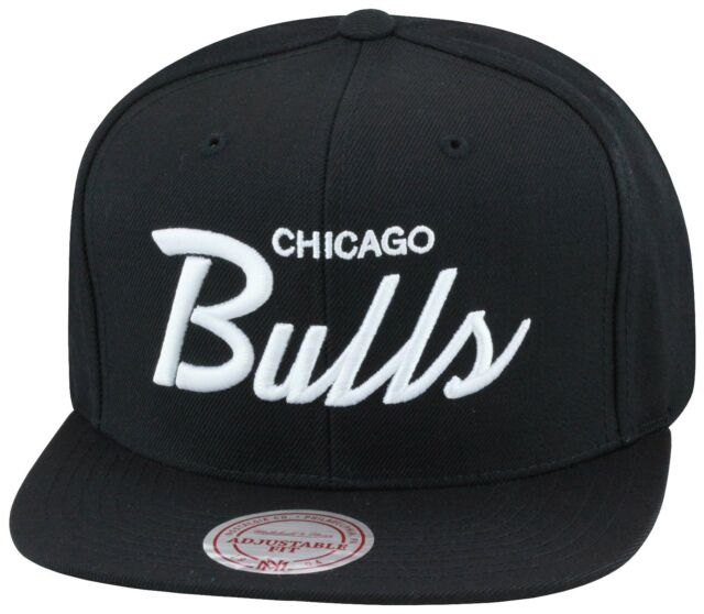 734cace4bc3 cheapest mitchell ness chicago bulls snapback black white script jordan 6  black cat 1 560b0 d8937