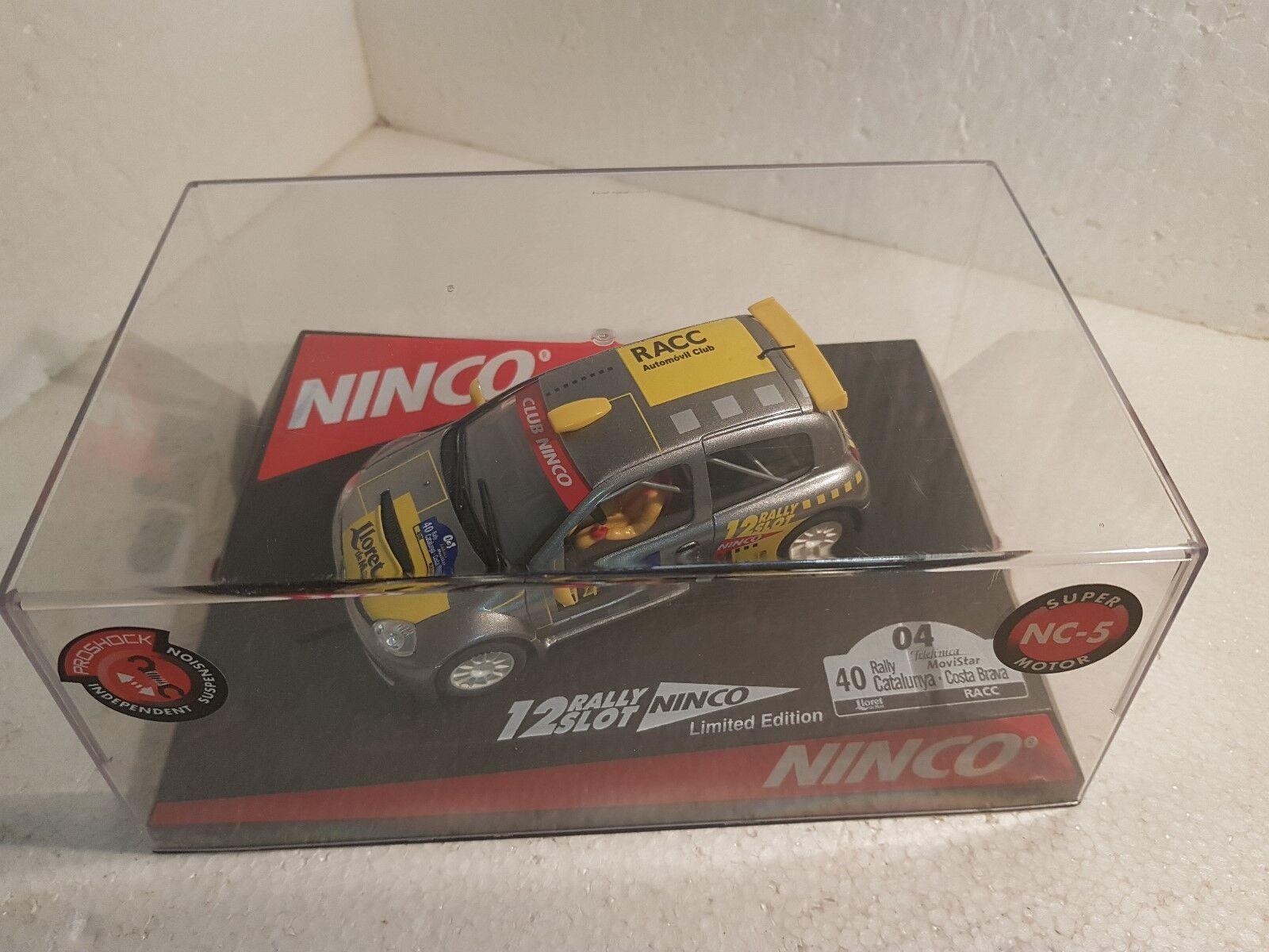 Ninco 50353 Renault Clio Catalunya Costa Brava 2004 Offiziell Driver Lted.ed Elektrisches Spielzeug